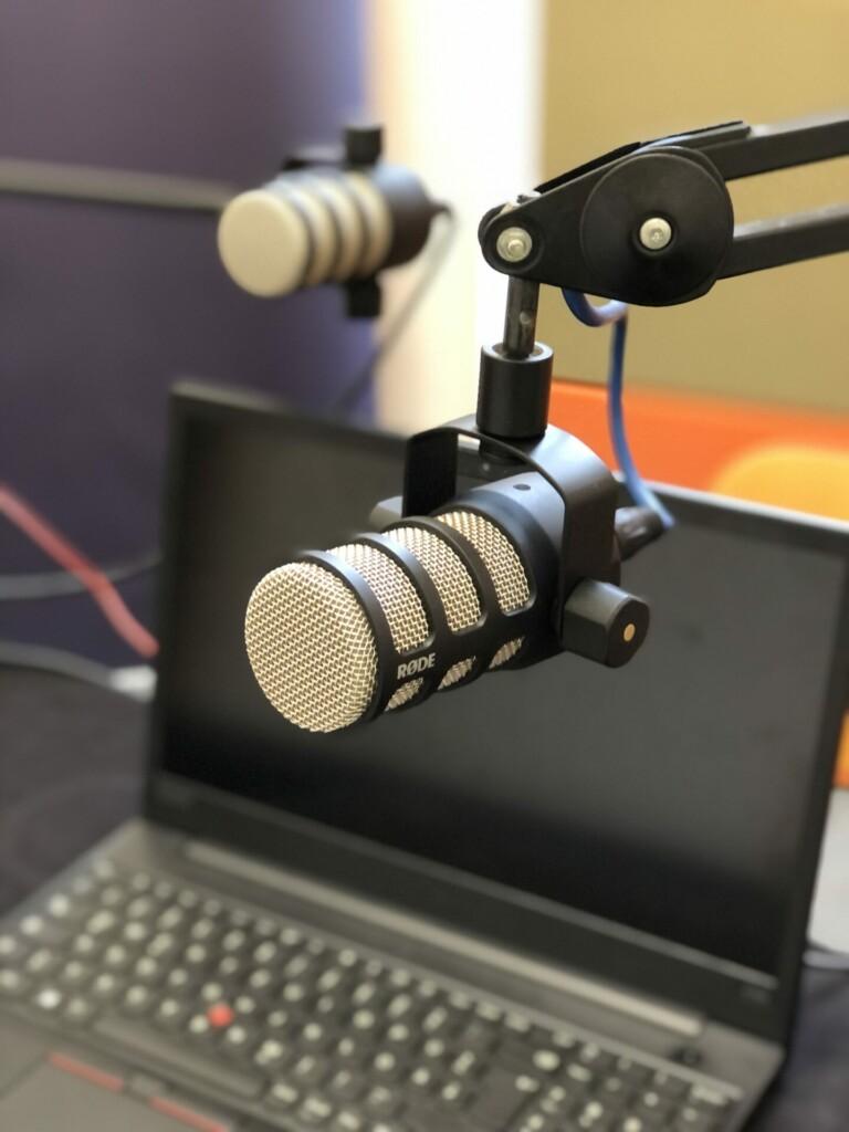 microfone des wart radios im massstabwerk